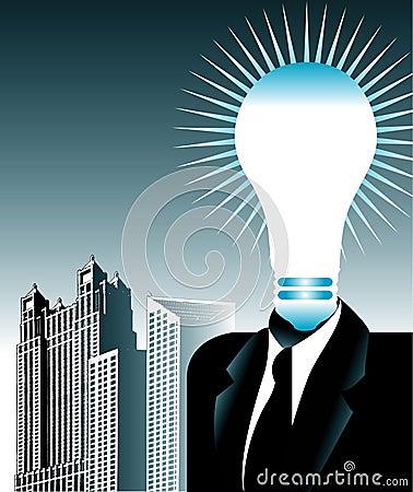 Bright business idea
