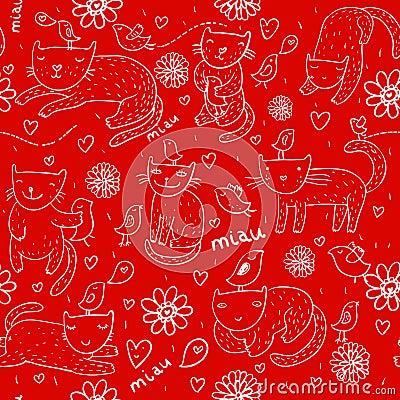 Bright children pattern