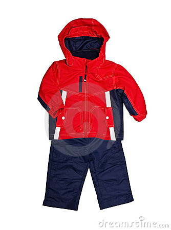 Bright children s jacket and trousers