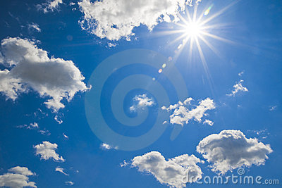 Bright Cloudy Sky