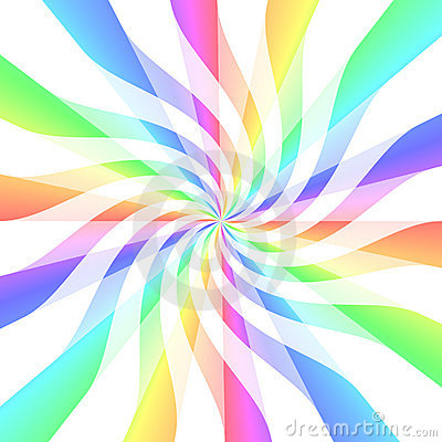 Free Bright Color Ribbon Twirls Stock Photos - 4499463