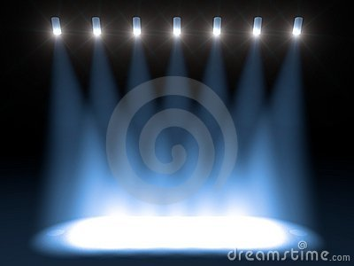 Bright Concert Stage Stock Image - Image: 6963291