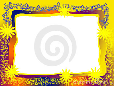 Bright Decorative Frame