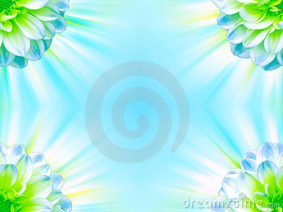 Bright Floral Frame Royalty Free Stock Photos - Image: 5752948