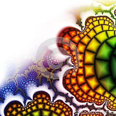 Bright fractal