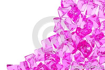 Bright glass stones