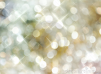 Bright Golden Silver Dot Background