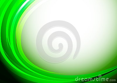 Bright green background