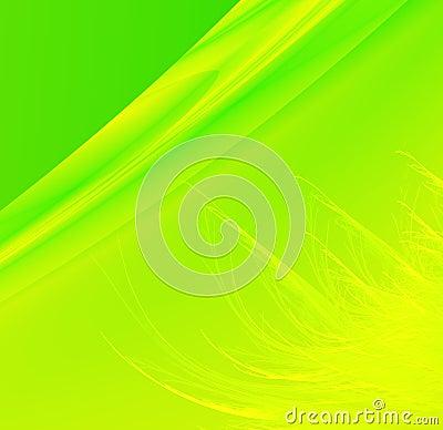 Bright green grassy background
