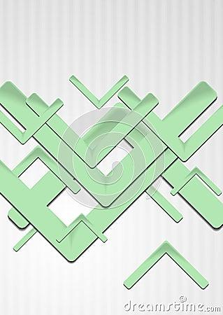 Bright green hi-tech backdrop