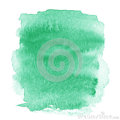 Free Bright Green  Spot, Watercolor Abstract Hand Painted Textured Ba Stock Photo - 46022340