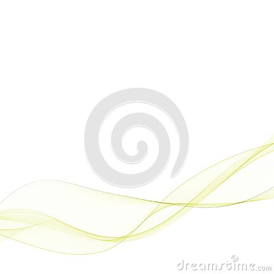 Bright green vector waves abstract background. eps 10 Vector Illustration