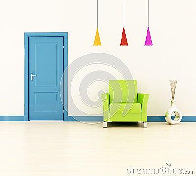 Bright home entrance