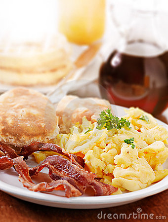 Free Bright Huge Breakfast Stock Photo - 14633910