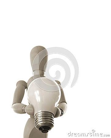 Free Bright Idea Royalty Free Stock Photos - 84348
