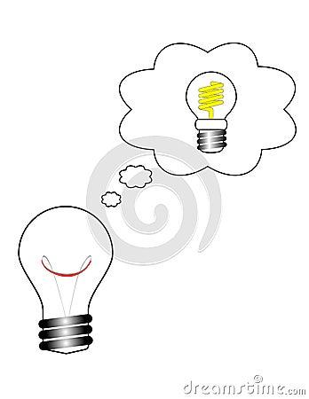 A bright idea - conserve energy!