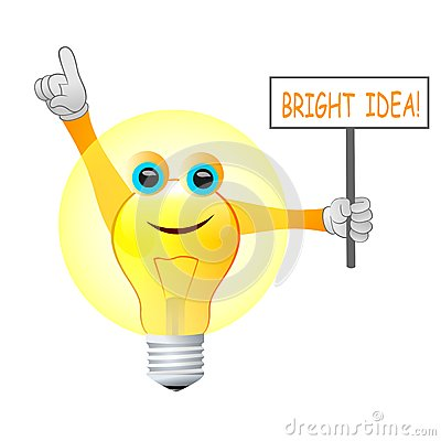 Free Bright Idea Light Bulb Stock Images - 38477164