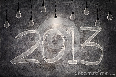 Bright ideas in 2013 with light bulbs