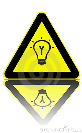 Bright ideas zone warning