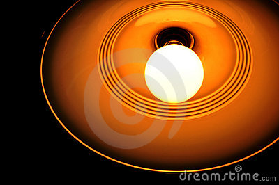 Bright Incandescent Light Bulb