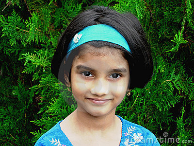 Bright Indian Girl