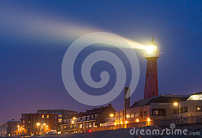 Bright Lighthouse beam
