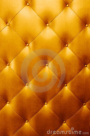 Free Bright Luxury Golden Leather Royalty Free Stock Photos - 16147928