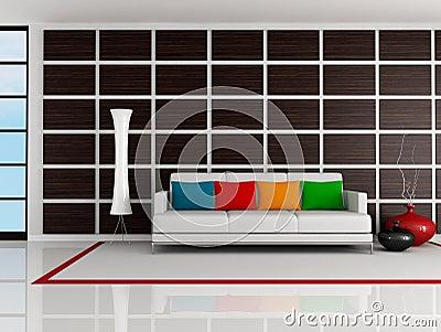 Bright modern living room
