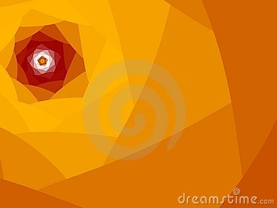 Bright orange red flower
