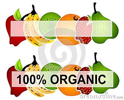 Bright Organic Food Labels 2