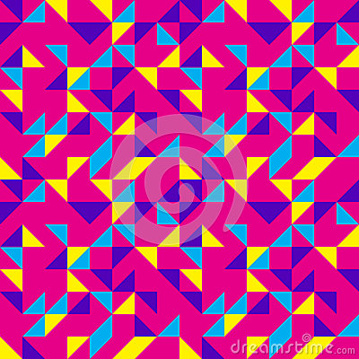 Bright Pink Pop Pattern