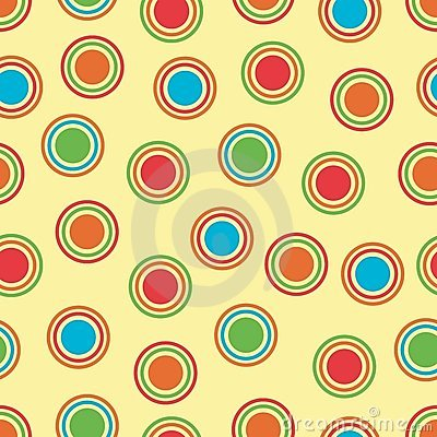 Bright Polka Dots Background Royalty Free Stock Photography - Image: 5975787
