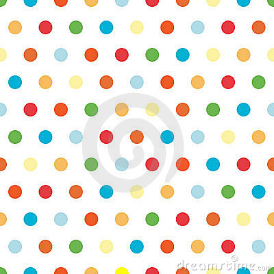 Free Bright Polka Dots Background Royalty Free Stock Photos - 6031918