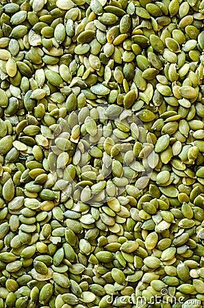 Bright Pumpkin Seed background