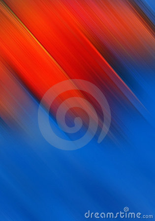 Bright red and blue background