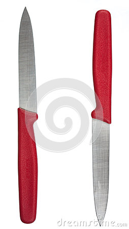 Free Bright Red Knives Stock Photography - 37204052