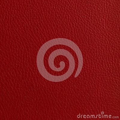 BRIGHT RED LEATHER TEXTURED BACKGROUND