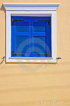 Bright shuttered window