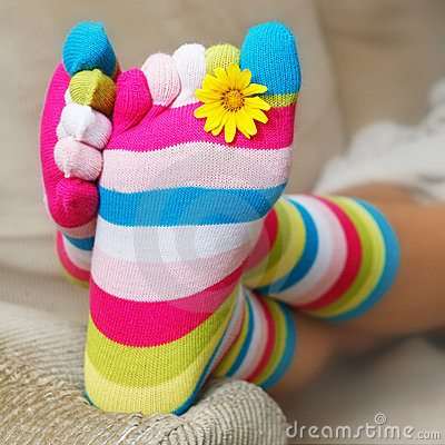 Free Bright Socks Stock Photos - 2698423