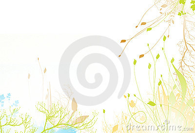 Bright spring flower background