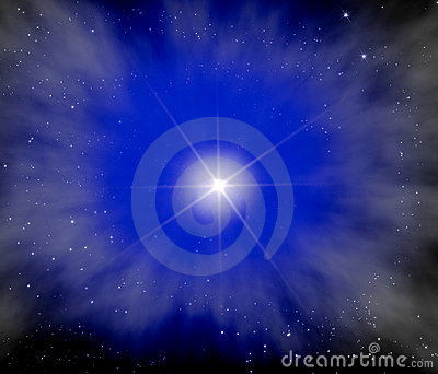 Bright Star in Outer Space