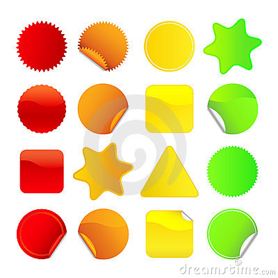 Bright Stickers Set 1
