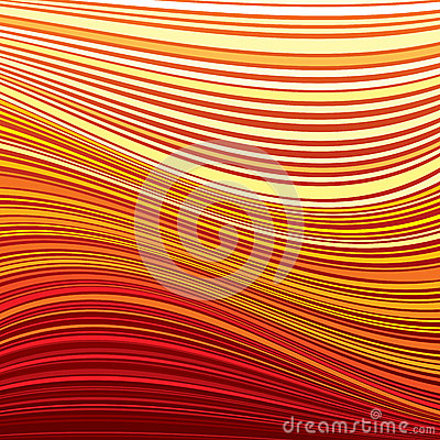 Bright Striped Background