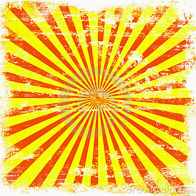 Bright Sunburst Grunge