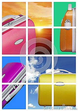 Bright travel case comp