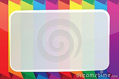 Bright vector frame