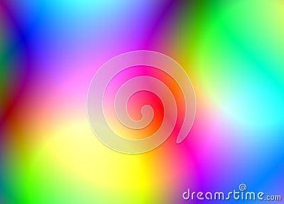 Bright vibrant colors
