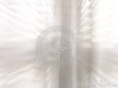 Bright White Window Zooming In Action