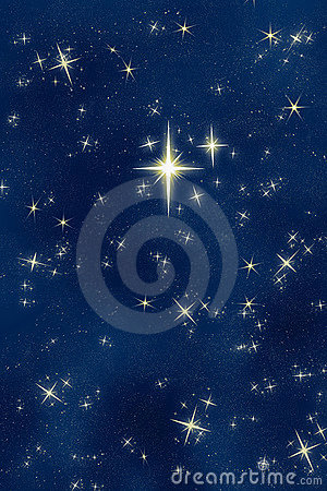 Free Bright Wishing Star Night Sky Stock Photos - 3510593