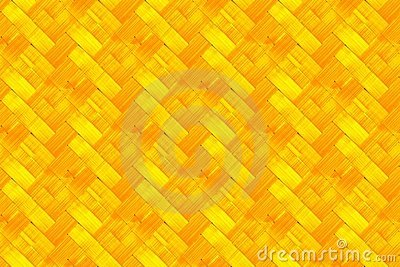 Bright woven bamboo background
